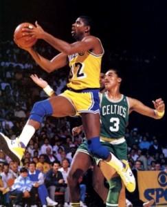 1. Magic Johnson wore Converse, too