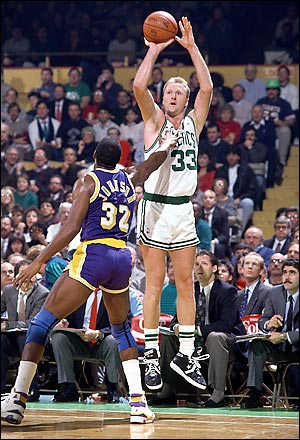 10 Larry Bird Wore Converse shoes
