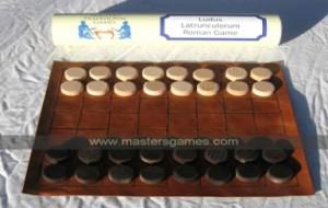 4 Latrunculi (Roman Chess)
