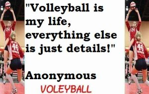 4 Volleyball and life