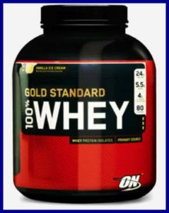 7. Optimum Nutrition Whey Protein Gold 5 lbs.