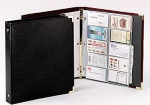 2. Business Card Binder