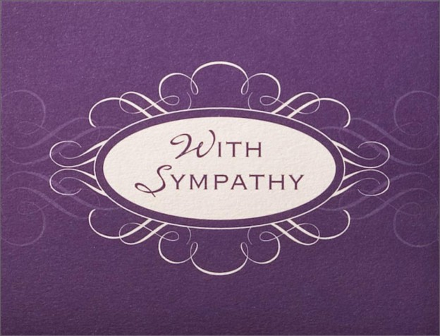20 With sympathy