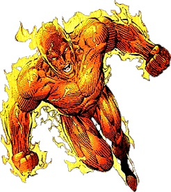 9 The Human Torch