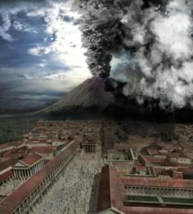 10 Mount Vesuvius Eruption in 79 A.D