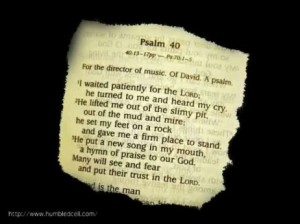 10 Psalm 40