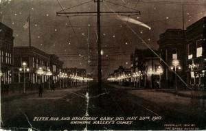 8 Halley's Comet in 1910