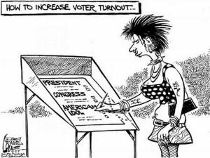 13. Electioneering
