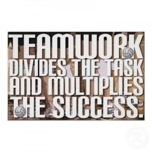 8 Teamwork always works