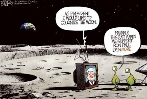 9. Newt would still probably lose the Moon primary