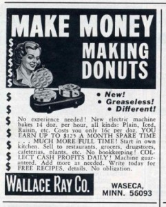 Sell T-Shirts, Donuts, Anything